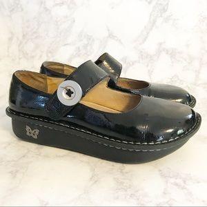 Alegria Palona Black Patent Leather PAL- 101